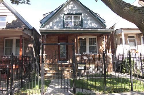 3504 W Hirsch, Chicago, IL 60651 Humboldt Park