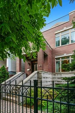 3044 N Greenview, Chicago, IL 60657 Lakeview
