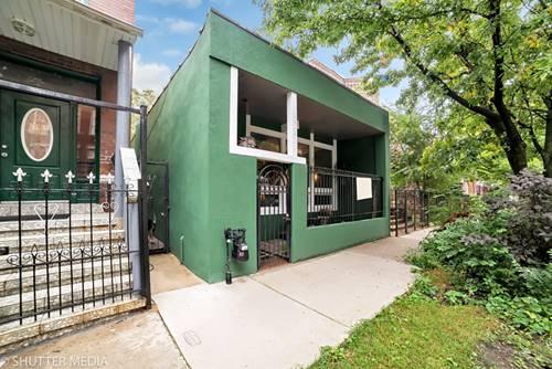 3313 W Hirsch, Chicago, IL 60651 Humboldt Park