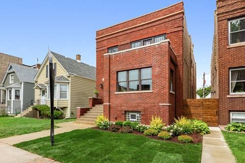 3346 W Cullom, Chicago, IL 60618 Irving Park