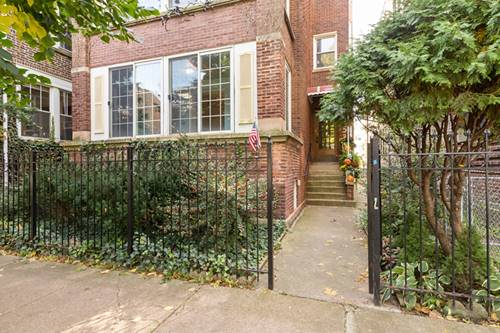 1253 W Rosedale Unit 1, Chicago, IL 60660 Edgewater