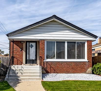 5844 S Melvina, Chicago, IL 60638 Garfield Ridge