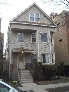 3803 N Bell, Chicago, IL 60618 Northcenter