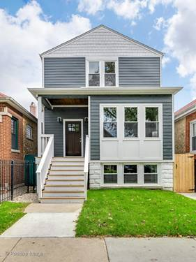 3021 N Troy, Chicago, IL 60618 Avondale