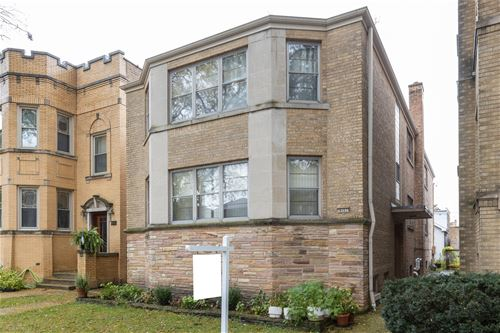 5717 N St Louis, Chicago, IL 60659 Hollywood Park