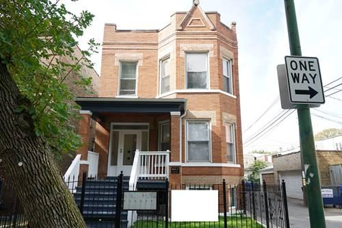 2544 N Avers Unit GF, Chicago, IL 60647 Logan Square