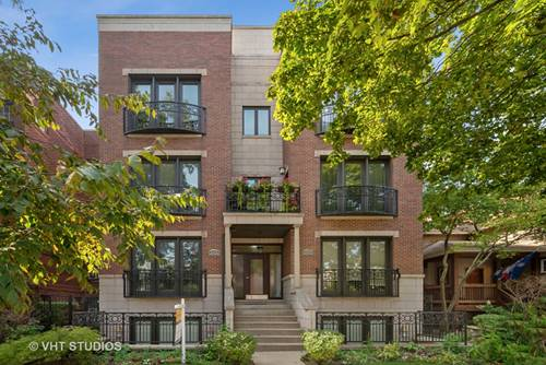 3436 N Bosworth Unit 3S, Chicago, IL 60657 West Lakeview