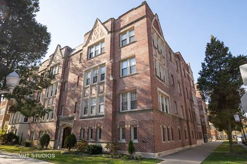 2607 W Rosemont Unit A, Chicago, IL 60659 West Ridge