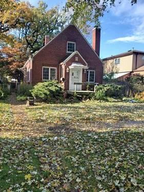 9410 S 51st, Oak Lawn, IL 60453