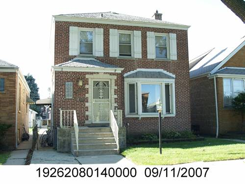 3511 W 72nd, Chicago, IL 60629 Marquette Park