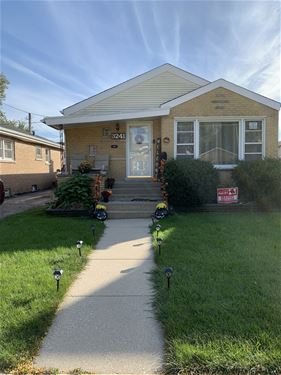 3241 W 108th, Chicago, IL 60655 Mount Greenwood