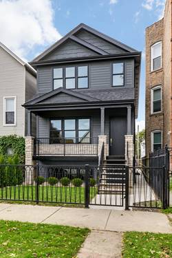 2520 N Campbell, Chicago, IL 60647 Logan Square