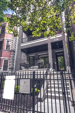 863 W Wrightwood Unit 3, Chicago, IL 60614 Lincoln Park