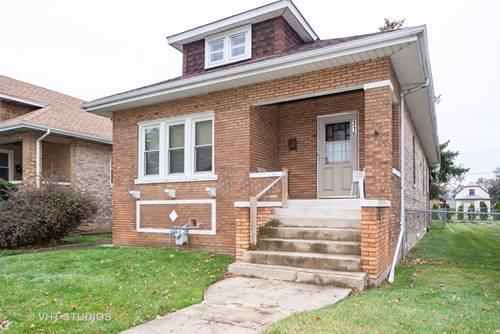316 26th, Bellwood, IL 60104