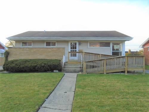 4824 W Hawthorne, Hillside, IL 60162