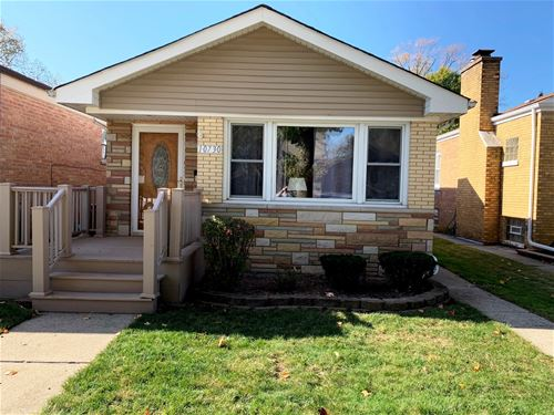 10730 S Albany, Chicago, IL 60655 Mount Greenwood