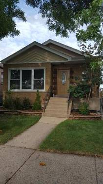 4813 S Lawler, Chicago, IL 60638 Vittum Park