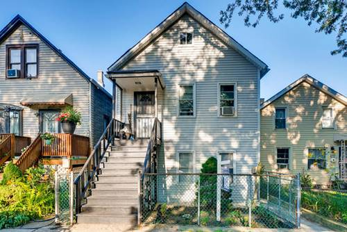 3817 S Wolcott, Chicago, IL 60608