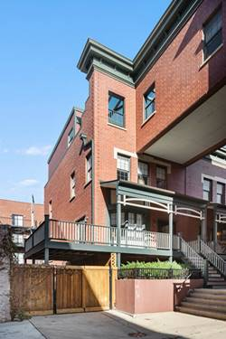 1035 W Rundell Unit 26, Chicago, IL 60607 West Loop