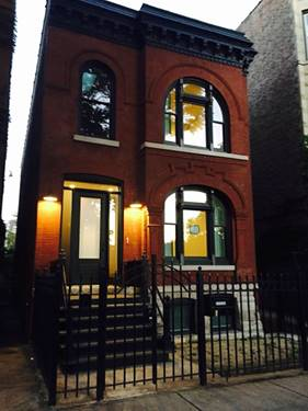 1541 N Bell Unit 1, Chicago, IL 60622 Wicker Park
