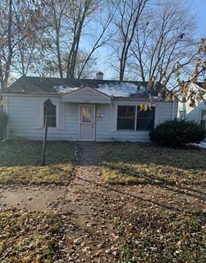 14924 Oakdale, Harvey, IL 60426