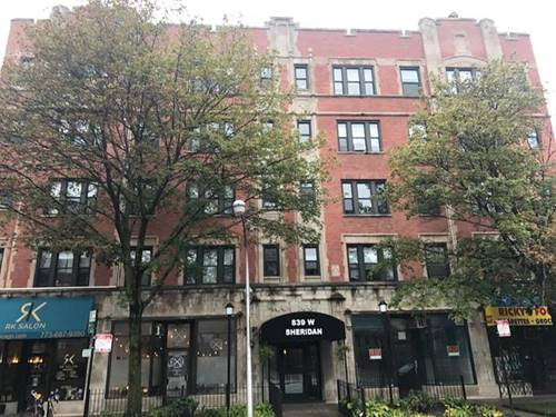 839 W Sheridan Unit 209, Chicago, IL 60613 Lakeview