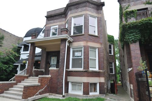 6327 S St Lawrence, Chicago, IL 60637 West Woodlawn