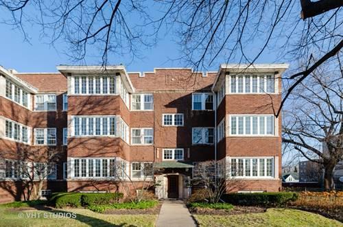 809 Ridge Unit 3, Evanston, IL 60201
