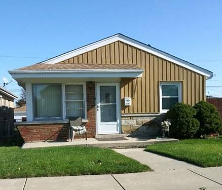 5747 S Mcvicker, Chicago, IL 60638 Garfield Ridge