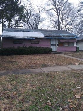 14721 Dobson, Dolton, IL 60419