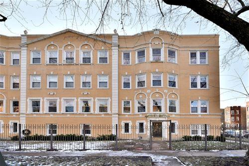 2061 W Fargo Unit 3, Chicago, IL 60645 Rogers Park