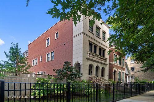 1460 W Byron, Chicago, IL 60613 Lakeview