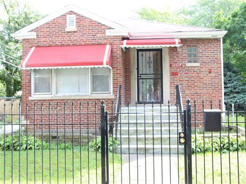 12317 S La Salle, Chicago, IL 60628 West Pullman