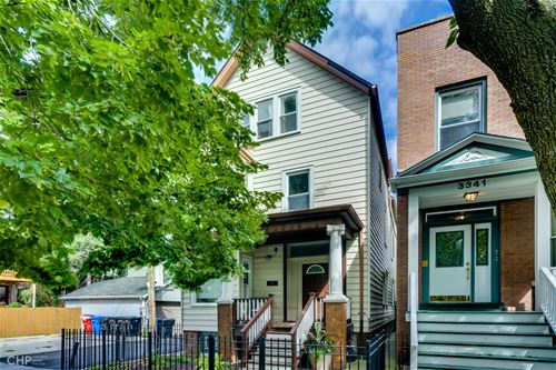 3343 N Bell Unit 3, Chicago, IL 60618 Roscoe Village