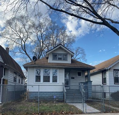 10930 S Eggleston, Chicago, IL 60628 Roseland