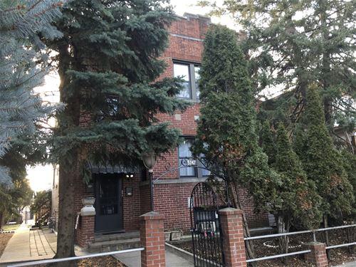 5747 W Cornelia, Chicago, IL 60634 Portage Park