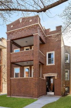 3129 W Eastwood, Chicago, IL 60625 Albany Park