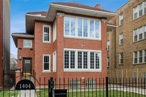 1404 W Jarvis, Chicago, IL 60626 Rogers Park