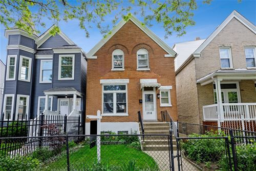 1716 N Lawndale, Chicago, IL 60647 Logan Square