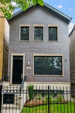 4549 N Claremont, Chicago, IL 60625 Ravenswood