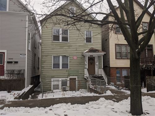2842 N Campbell, Chicago, IL 60618 Avondale
