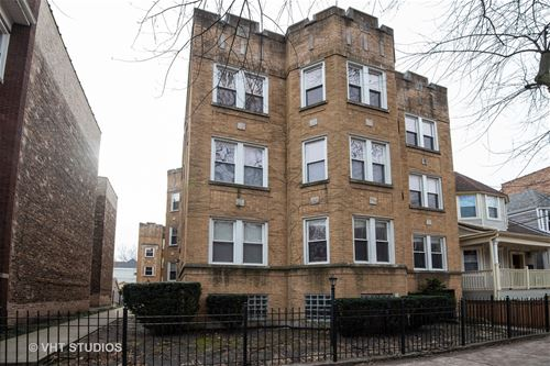 1527 W Rosemont Unit 3, Chicago, IL 60660 Edgewater