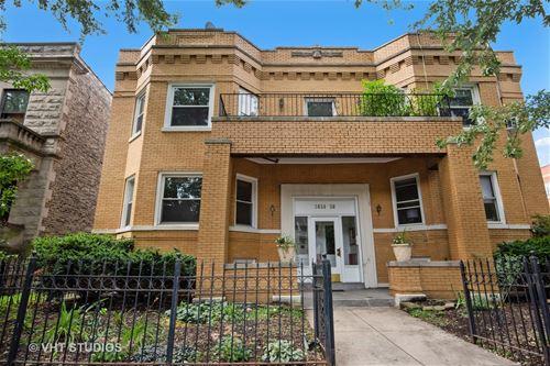 3654 N Janssen Unit 1, Chicago, IL 60613 Lakeview