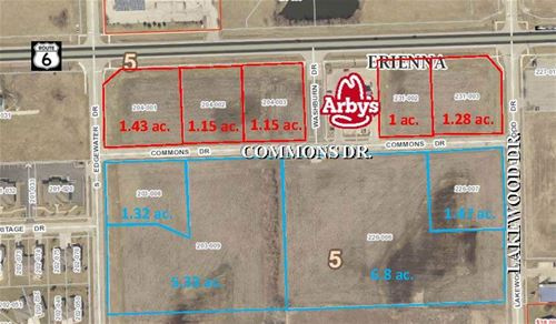 Lot 3,4,5, Edgewater Commons, Morris, IL 60450