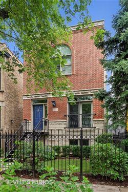 3319 N Leavitt, Chicago, IL 60618 Roscoe Village