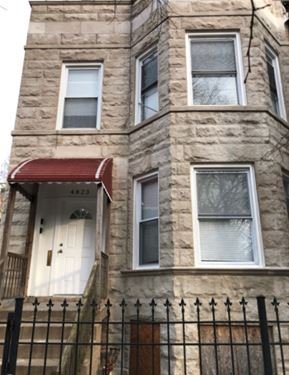 4823 N Magnolia, Chicago, IL 60640 Uptown
