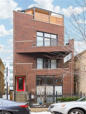 1061 N Marshfield Unit 3, Chicago, IL 60622 East Village