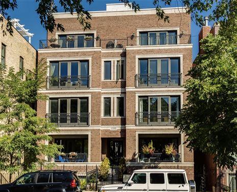 1518 W Cortez Unit 3E, Chicago, IL 60642 Noble Square
