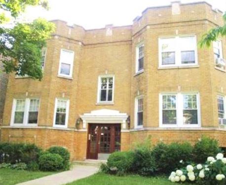 3846 N Richmond Unit G, Chicago, IL 60618 Irving Park