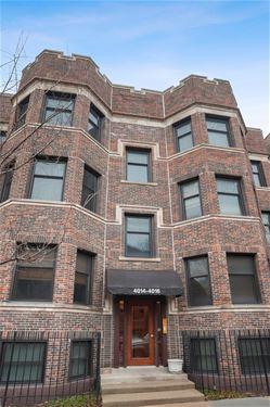 4014 N Clarendon Unit 4S, Chicago, IL 60613